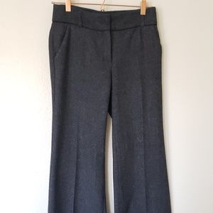Zara basic tweed patterned pants size 4